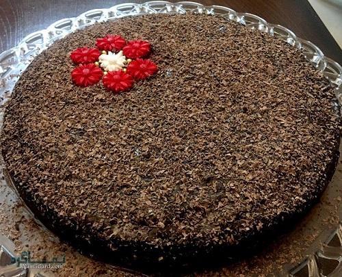 کیک شکلاتی لذیذ + فیلم آموزشی