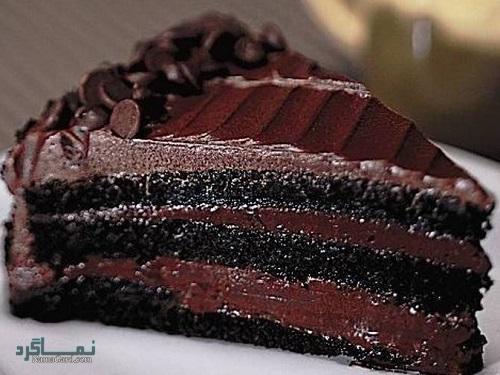 طرز تهیه کیک شکلاتی مجلسی