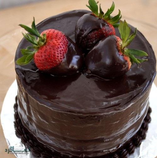 طرز تهیه کیک شکلاتی مجلسی + فیلم آموزشی