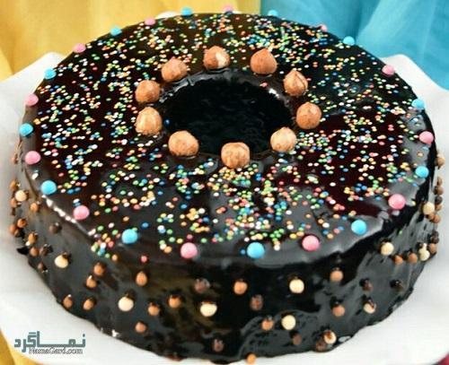طرز تهیه کیک شکلاتی لذیذ + تزیین