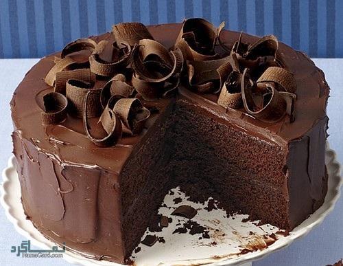 طرز تهیه کیک شکلاتی لذیذ + فیلم آموزشی
