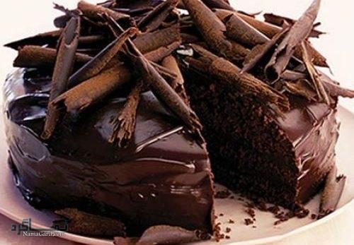 کیک شکلاتی مجلسی