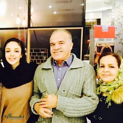 بیوگرافی و تصاویر المیرا دهقانی بازیگر و همسرش
