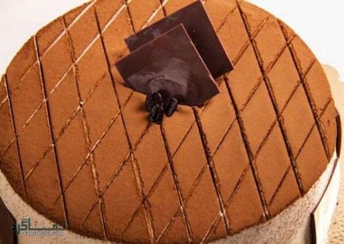 فیلم آموزشی نحوه پخت کیک قهوه شیک