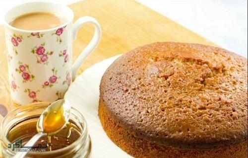 کیک عسل لذیذ + فیلم آموزشی
