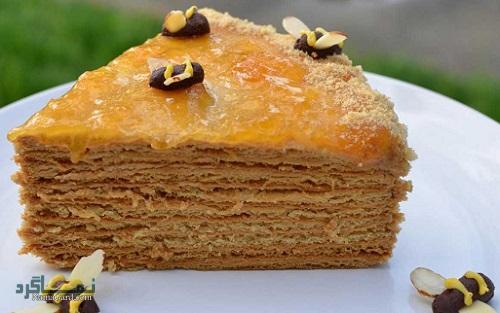 روش پخت کیک عسل لذیذ