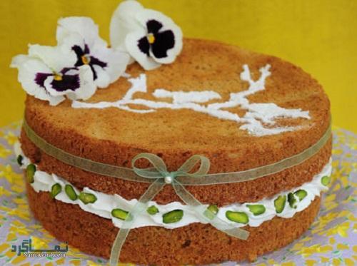 دستور پخت کیک عسل شیک + تزیین