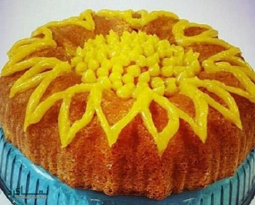 طرز تهیه کیک هلو خوشمزه