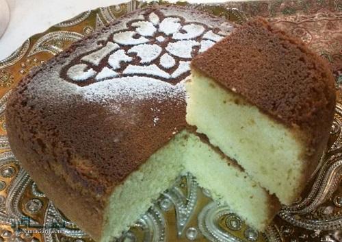 طرز تهیه کیک قابلمه ای ساده