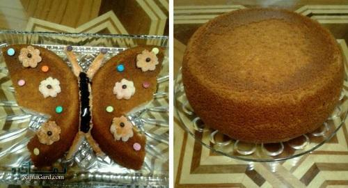 طرز تهیه کیک قابلمه ای مجلسی + تزیین