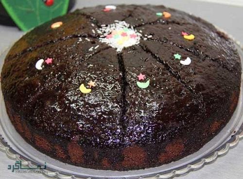 طرز تهیه کیک قابلمه ای خوش طعم