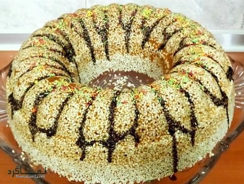 کیک کنجد