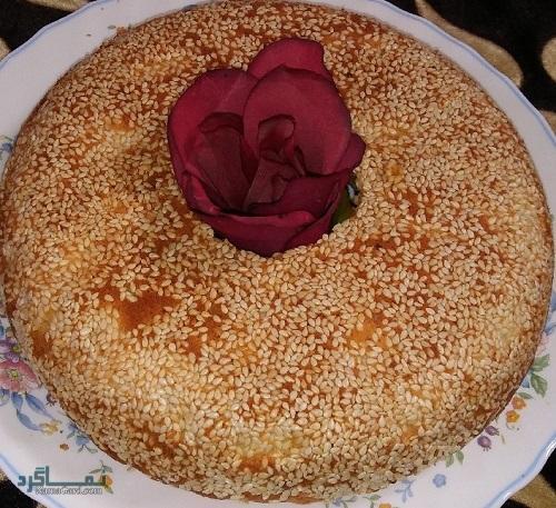 طرز تهیه کیک کنجد خوش طعم