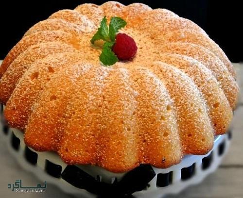 کیک کنجد | طرز تهیه کیک کنجد خوشمزه + فیلم آموزشی