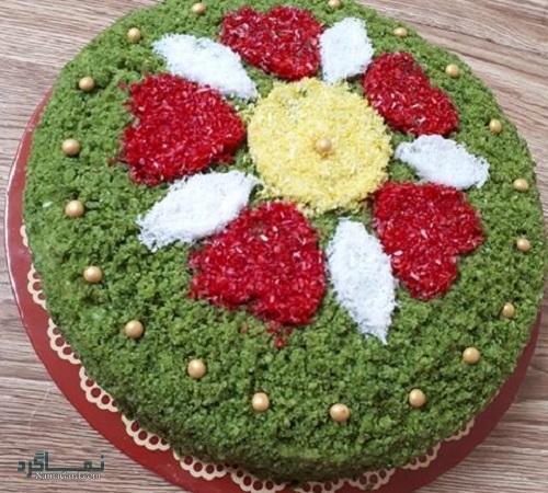 کیک اسفناج مجلسی
