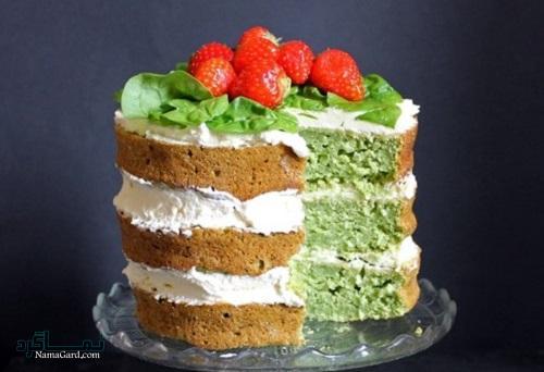 کیک اسفناج ساده