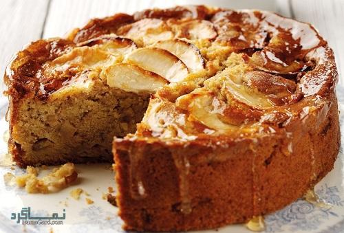 طرز تهیه کیک سیب خوشمزه