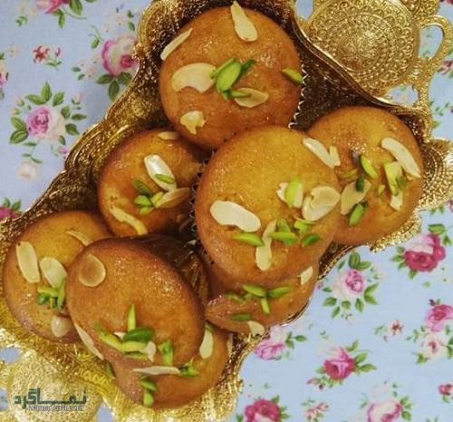 طرز تهیه کیک یزدی لطیف + فیلم آموزشی