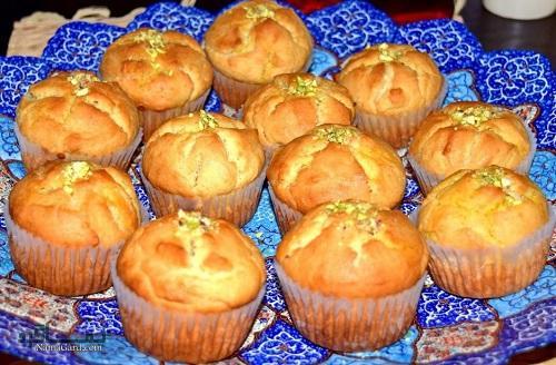 طرز تهیه کیک یزدی + تزیین