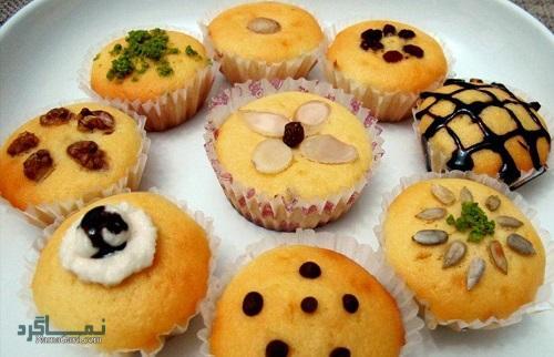 کیک یزدی لطیف + تزیین