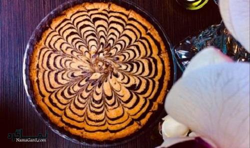 کیک زبرا + تزیین