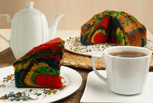 طرز تهیه کیک زبرا مجلسی