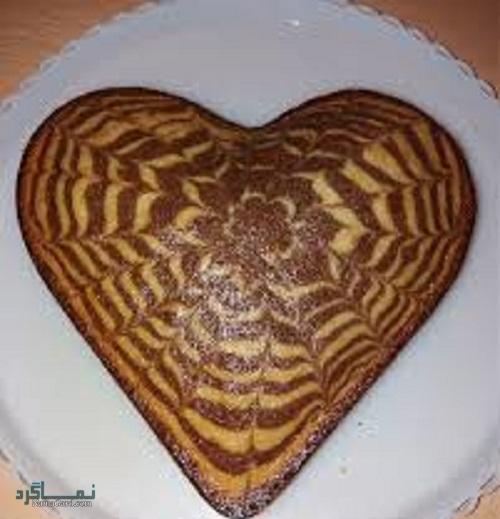 کیک زبرا خوشمزه + تزیین