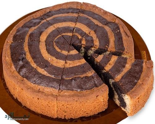 طرز تهیه کیک زبرا خوشمزه