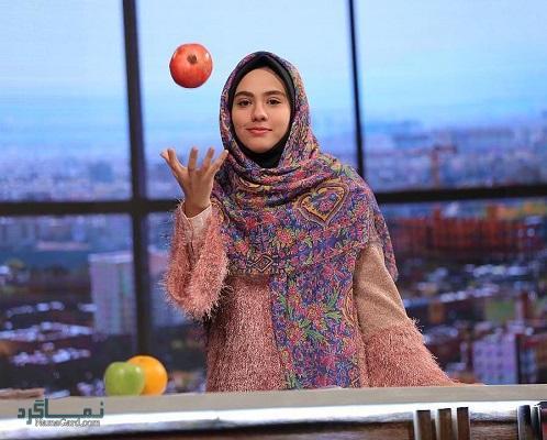 بیوگرافی مریم ماهور مجری برنامه حالا خورشید + تصاویر او