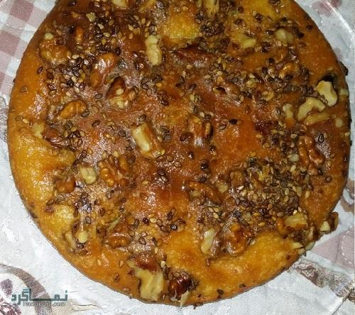 طرز تهیه نان کماج
