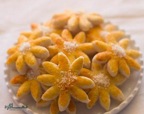 شیرینی پرتقال خوش عطر