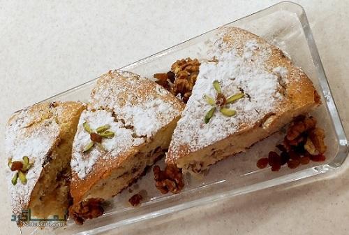 طرز تهیه کیک گردویی خوشمزه