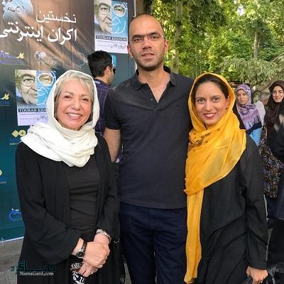 بیوگرافی رخشان بنی اعتماد و همسرش + تصاویر او