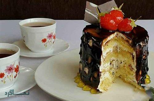 کیک اسفنجی مجلسی