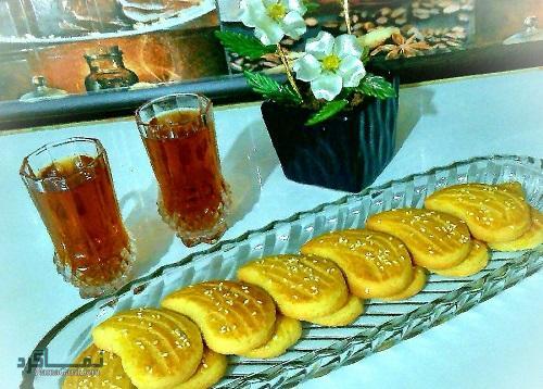 طرز تهیه شیرینی نان چایی خانگی + فیلم آموزشی