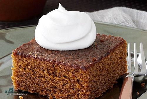 طرز تهیه کیک زنجبیلی ساده