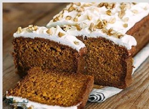 طرز تهیه کیک زنجبیلی ساده + تزیین
