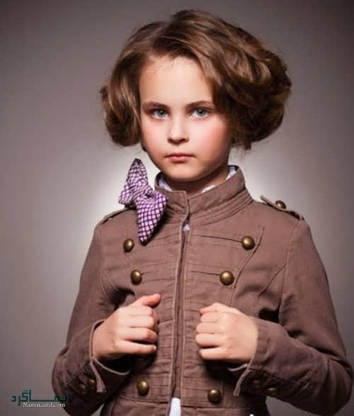 مدل موی کوتاه دختر بچه ها