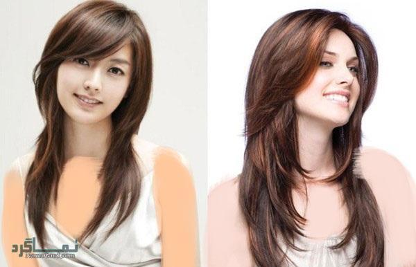 مدل کوتاهی مو برای موهای بلند