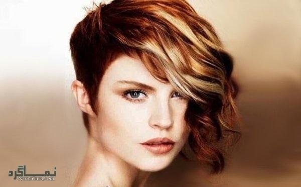 مدل کوتاهی موی فشن زنانه