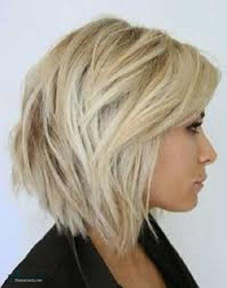 مدل کوتاهی مو برای موهای کم پشت