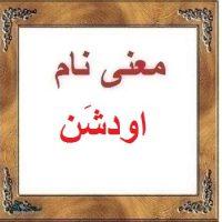 معنی اسم اودشَن – معنی نام اودشَن – اسم های دخترانه ترکی اصیل