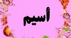 معنی اسم أسیم – نام اسیم – اسم های دخترانه ترکی