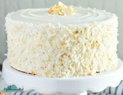 طرز تهیه کیک نارگیل خوشمزه