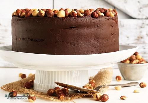 طرز تهیه کیک فندق ساده