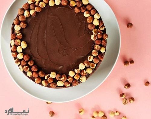 طرز تهیه کیک فندق خوشمزه + فیلم آموزشی