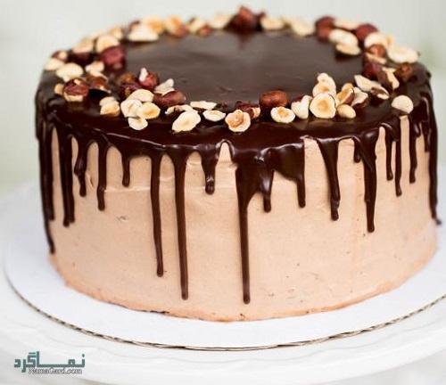 کیک فندق | طرز تهیه کیک فندق ساده + فیلم آموزشی