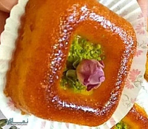 فیلم آموزشی نحوه پخت کیک خاگینه مجلسی