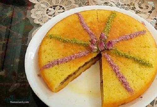 کیک خاگینه مغزدار