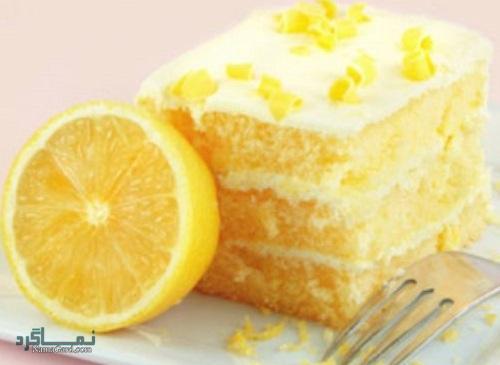 مراحل نحوه پخت کیک لیمویی خوشمزه